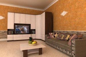 Гостиная стенка Комфорт 10 - Мебельная фабрика «Шадринская»
