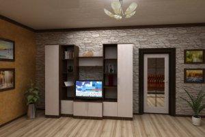 Гостиная стенка Комфорт 12 - Мебельная фабрика «Шадринская»