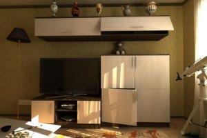 Гостиная стенка Комфорт 18 - Мебельная фабрика «Шадринская»