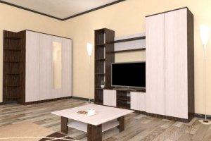 Гостиная стенка Комфорт 6 - Мебельная фабрика «Шадринская»