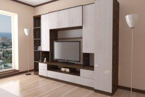 Гостиная стенка Комфорт 8 - Мебельная фабрика «Шадринская»