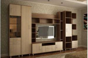 Гостиная стенка Логика 5 - Мебельная фабрика «Кошелёв и К»