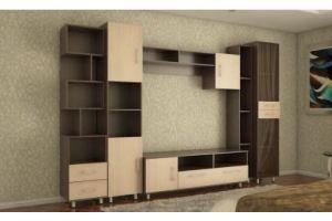 Гостиная стенка Логика 6 - Мебельная фабрика «Кошелёв и К»