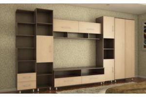 Гостиная стенка Логика 8 - Мебельная фабрика «Кошелёв и К»