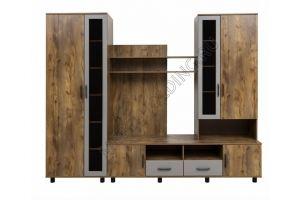 Гостиная стенка Мариам Лофт - Мебельная фабрика «Мебель Холдинг»
