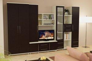 Гостиная стенка МС 19 - Мебельная фабрика «Алекс-Мебель»