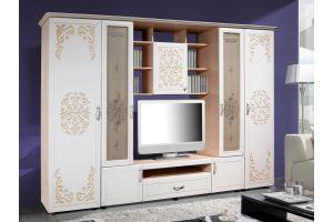 гостиная стенка Нежность - Мебельная фабрика «Калинковичский мебельный комбинат»