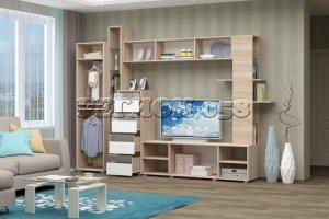Гостиная стенка Нота 25 - Мебельная фабрика «Регион 058»