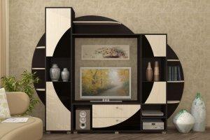 Гостиная-стенка Орхидея-3 - Мебельная фабрика «Мебель Эконом»