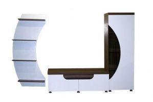 Стенка в гостиную Пилигрим - Мебельная фабрика «Регина»