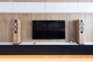 Гостиная стенка под ТВ - Мебельная фабрика «Алгаир»