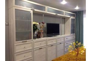 Гостиная стенка с витриной МДФ - Мебельная фабрика «ЭльфОла»