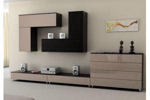 Гостиная стенка в стиле минимализм - Мебельная фабрика «Интерьер»