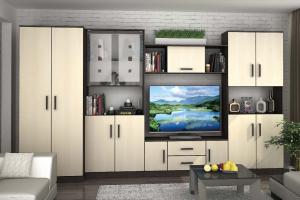 Гостиная стенка Вега 4 - Мебельная фабрика «РиИКМ»