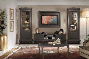 Гостиная стильная Мокко - Мебельная фабрика «Молодечномебель»