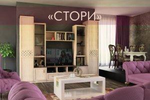 Гостиная Стори - Мебельная фабрика «Регина»