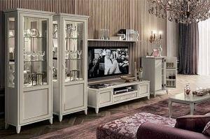 Гостиная светлая классическая Giotto - Импортёр мебели «Camelgroup (Италия)»