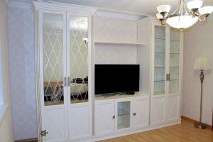 Гостиная светлая с зеркалами - Мебельная фабрика «Красивый Дом»
