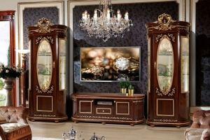 Гостиная темная Виола - Мебельная фабрика «Слониммебель»