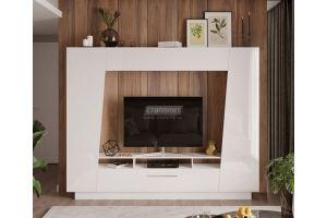 Гостиная Твист белый глянец - Мебельная фабрика «Столплит»