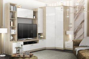 Гостиная угловая глянец Софи - Мебельная фабрика «ДСВ-Мебель»