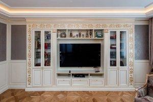 Гостиная в классическом стиле - Мебельная фабрика «Полка»