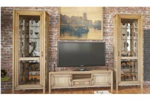 Гостиная в стиле Лофт Спарта - Мебельная фабрика «Сомово-мебель»