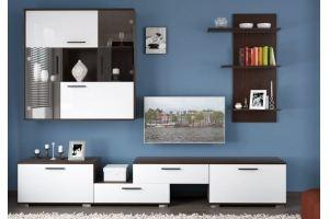Гостиная прямая Валенсия - Мебельная фабрика «КухниСтрой+»