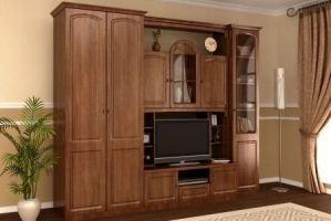 Гостиная Валерия 4П - Мебельная фабрика «М-Сервис»