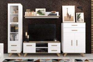 Гостиная Вега Скандинавия 2 - Мебельная фабрика «Кураж»