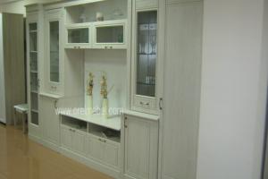 гостиная Версаль дуб атланта+эмаль - Мебельная фабрика «Орёлмебель»