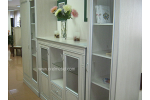 гостиная Версаль дуб атланта+патина серебро - Мебельная фабрика «Орёлмебель»