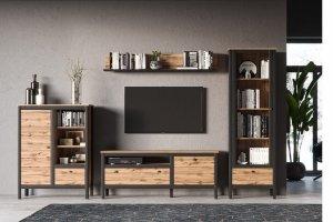 Гостиная Loft - Импортёр мебели «БРВ Black Red White»