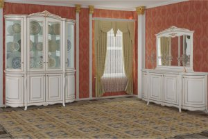 Гостиная Виченца Радиусная - Мебельная фабрика «Кубань-мебель»
