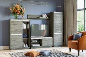 Готовое решение для гостиной VIRGINIA - Мебельная фабрика «Сильва»