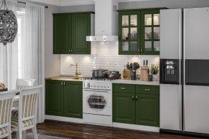 Комплект кухня Престиж зеленый - Мебельная фабрика «МиФ»
