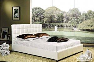 грациозная белая кровать Лола  - Мебельная фабрика «МебельЛайн»