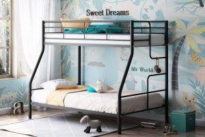 Двухъярусная кровать Гранада-3 черная - Мебельная фабрика «Формула мебели»