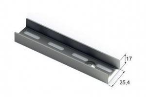 GSA0283 металлик. Направляющая настенная, L=2400 - Оптовый поставщик комплектующих «Aristo»
