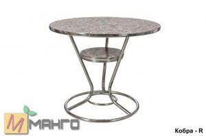 Хромированный стол Кобра R - Мебельная фабрика «Манго»