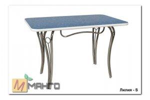 Хромированный стол Лилия S - Мебельная фабрика «Манго»