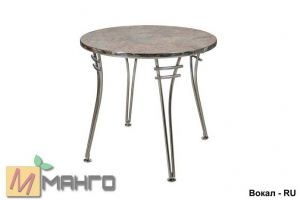 Хромированный стол Вокал RU - Мебельная фабрика «Манго»