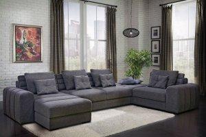 Большой угловой диван Доминика - Мебельная фабрика «Боно»