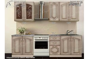 Кухня прямая Иден-1 - Мебельная фабрика «Дара»