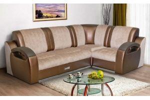 Инфинити 2 угловой диван с механизмом дельфин - Мебельная фабрика «Элегантный Стиль»