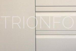 Фасад МДФ с интегрированной ручкой 2 - Оптовый поставщик комплектующих «Trionfo»