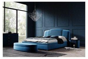 Интерьерная кровать массив Avalon с - Мебельная фабрика «Walson»