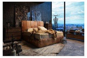 Интерьерная кровать массив Bernini - Мебельная фабрика «Walson»