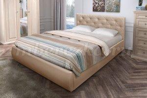 Интерьерная кровать Веда с пуговицами - Мебельная фабрика «Березка»