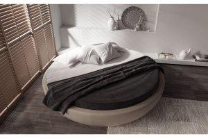 Интерьерная круглая кровать Winona - Мебельная фабрика «Walson»